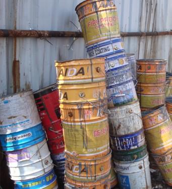 油漆桶粉碎机_废旧油漆桶